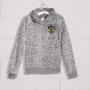 NEW VICTORIA'S SECRET PINK IOWA HAWKEYES SHERPA M